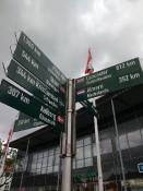 Rendsburg afstanden-naar-steden-bord