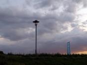 Onweer op komst in Enkhuizen